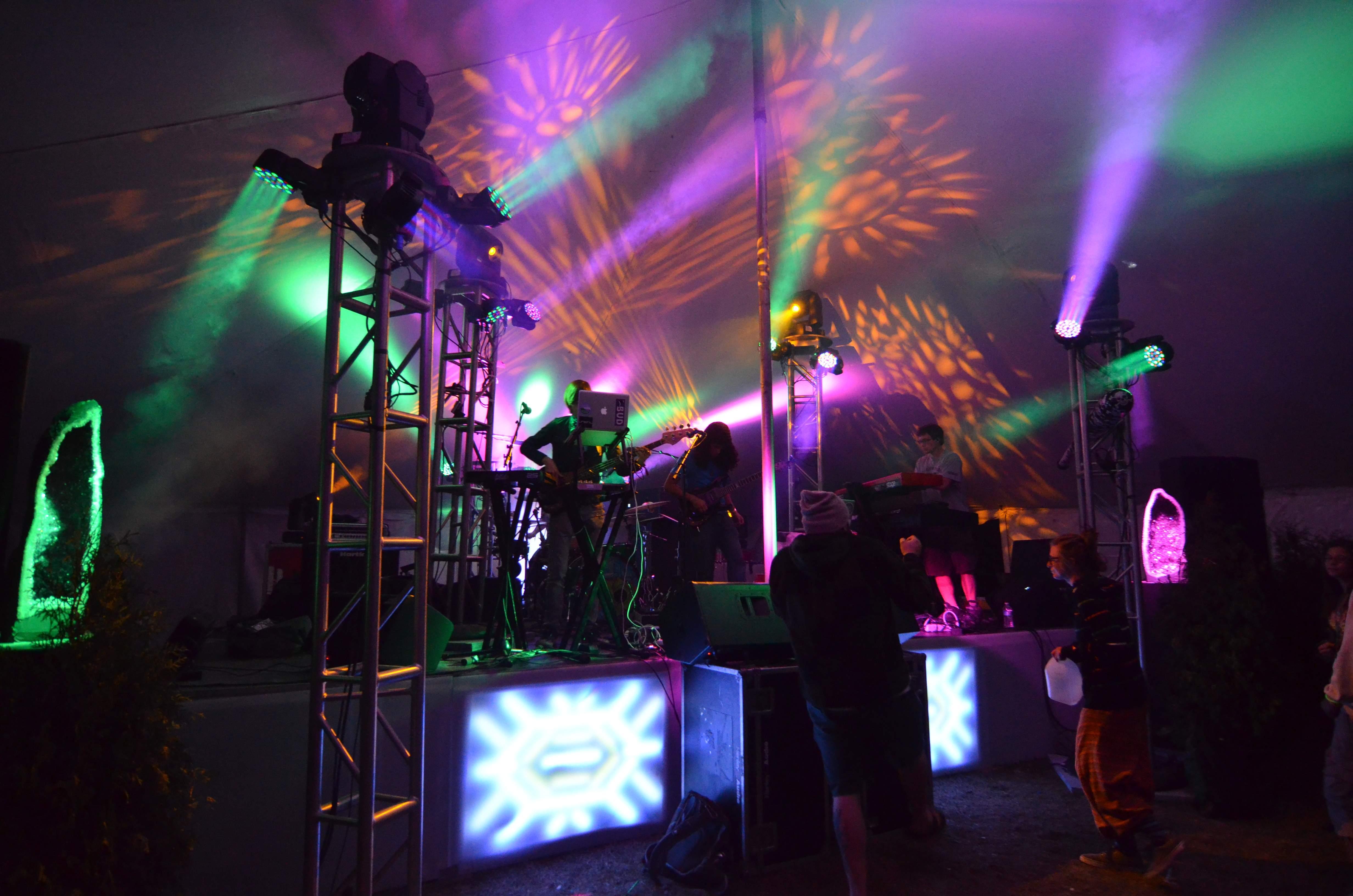 concert production MAC101 MAC250