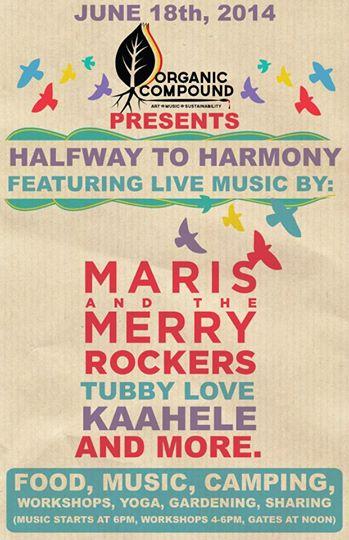 Halfway To Harmony – Wednesday June 18th